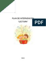 Plan de Intervención Lectura