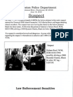 Suspect Release Document