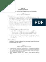 Spesifikasi Teknis Ipal Komunal Paduresan