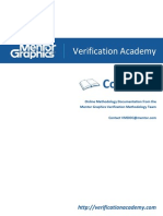 Cookbook Systemverilog Uvm Coding Performance Guidelines Verification Academy