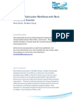 Design to Fabrication Workflows With Rhino Revit and Inventor - Frank Fralick_Handout
