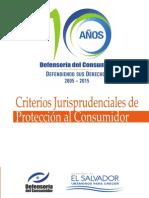 Criterios de la Defensoría del Consumidor