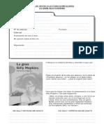 Guía de Apoyo a Lectura Domiciliaria La Gran Gilly Hopkins