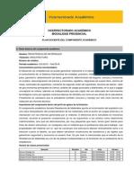 Plan Académico Resistencia de Materiales Paralelo b