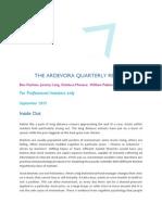 Ardevora Q3 2015 Combined Quarterly Review