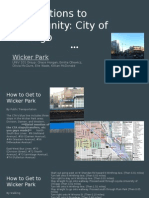 connections to community  city of chicago