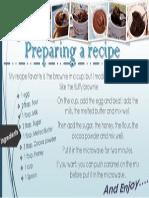 Preparing a Recipe