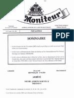 Haïti- L'Arrêté Présidentiel #193 Traitant Des Exonérations Des Anciens Dignitaires de l'Etat