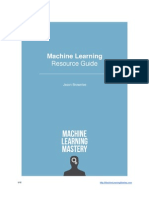 Machine Learning Resource Guide1