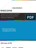 Intro machine learning