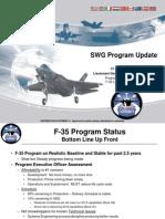 SWG Program Update