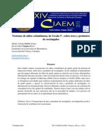 Área Y Perímetro De Cuadriláteros En Estudiantes Colombianos De Grado 5° De Educación Formal Final