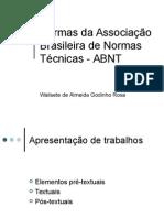 Normas Da Associação Brasileira de Normas Técnicas