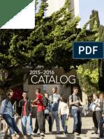 HNU 2015–2016 Catalog