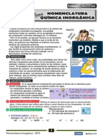NOMENCLATURA INORGANICA-2015