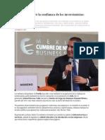 27-10-2015 Animal Político - Puebla Recuperó La Confianza de Los Inversionistas, Moreno Valle