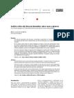 Análisis Crítico Del Discurso Biomédico