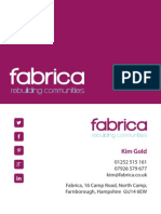 Fabrica Business Cards