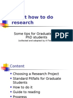 Tips About How to Do Research