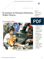 8 Lessons to Promote Diversity in Public Places - Project for Public Spaces