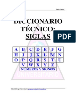 Diccionario Tecnico- Siglas Ingles-Español
