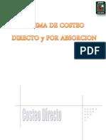 Sistema Costeo Directo y Por Absorcion