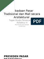Studio Perancangan Arsitektur 4 - Pasar Dan Mall