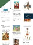 Triptico Organización Social Del Imperio Inca