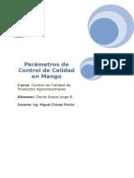 Parámetros de Calidad y Estándares de Clasificación en Mango