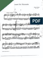Stamitz, Johann - Konzert Für Klarinette