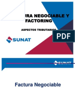 Factura Negociable y Factoring