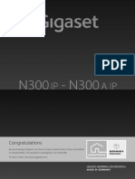 Gigaset n300ip Manual