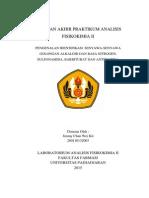 Modul 2_jimmy Chan Wei Kit_260110132003_identifikasi Senyawa-senyawa Golongan Alkaloid Dan Basa Nitrogen, Sulfonamida, Barbiturat Dan Antibiotika