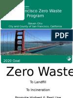 Apresentação Steven Chics - Departamento de Meio Ambiente de San Francisco – USA