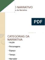 Categorias Da Narrativa - Manuela Silva