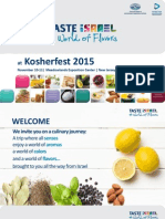 Israeli products at 2015 Kosherfest