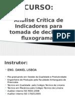 Curso de Análise Crítica de Indicadores e Fluxograma