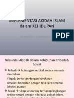 Implementasi Akidah Islam Dalam Kehidupan (Slide)