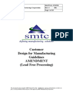 Lead free DFM Guidelines from SMTC