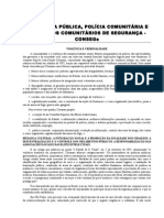 Seguranca publica Pol Comunitaria e CONSEG.doc