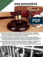 Arestarea preventivă
