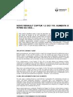 CI - Novo Renault Captur 1 5 DCi 110_aumenta o Ritmo Da Vida