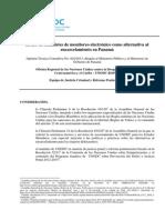 UNODC El uso de brazaletes de monitoreo electrónico como alternativa al encarcelamiento en Panamá Opinión Técnica Consultiva