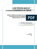 Modelo Informe Estadistico