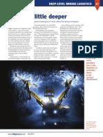 Digging a Little Deeper - Mining Magazin May 2014