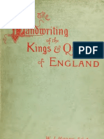 (1893) The Handwriting of the Kings and Queens of England