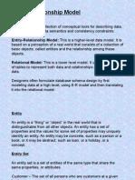 Data Models-E-R
