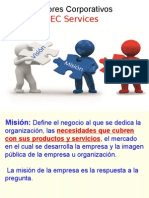 valores corporativos EC services