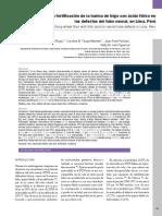 Impacto de La Fortificación de La Harina de Trigo Con Ácido Fólico En
