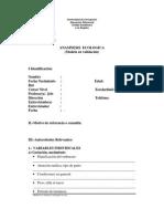 Anamnnesis Ecologica